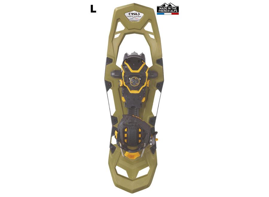 TSL Highlander Adjust Snowshoes Olive