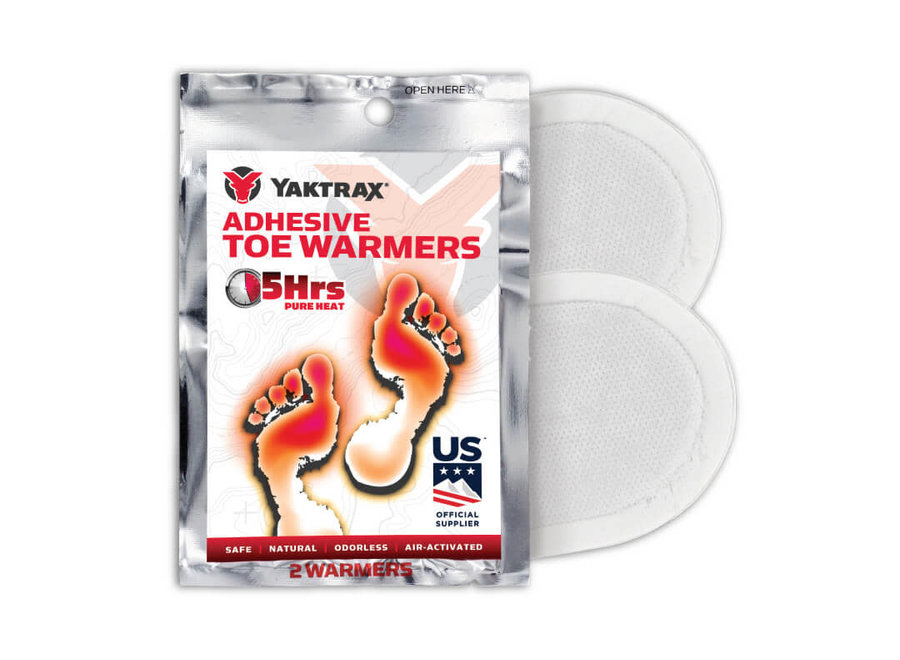 Yaktrax Adhesive Toe Warmer