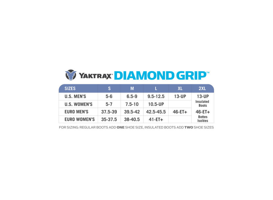 Yaktrax Diamond Grip Traction Device