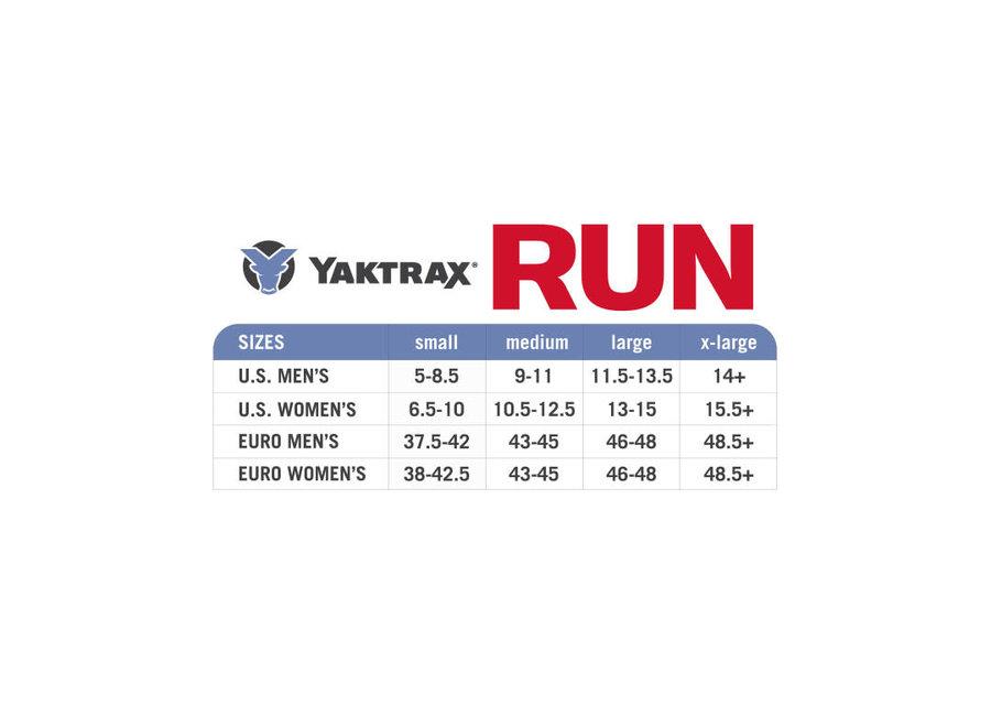 Yaktrax Run Traction Device