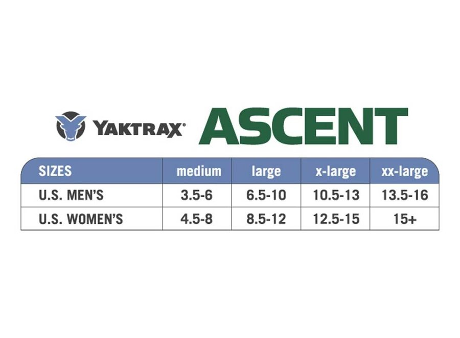 Yaktrax Ascent Traction Device