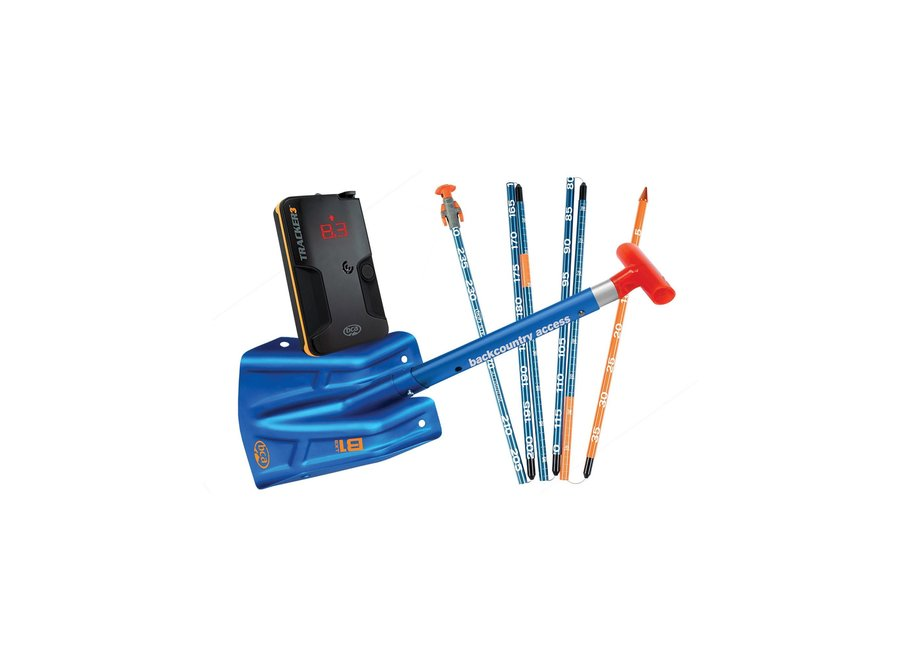 BCA T3 Avalanche Rescue Package - Tracker 3 Beacon / Stealth 270cm Probe / B1 EXT Shovel