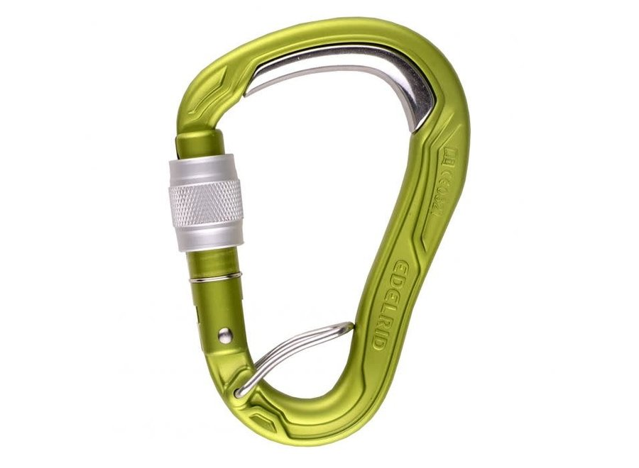 Edelrid HMS Bulletproof Screw FG Locking Carabiner