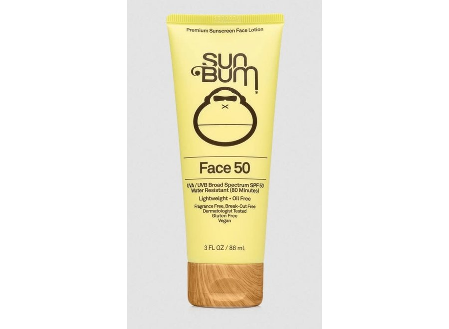 Sun Bum Clear Face Sunscreen Lotion SPF 50 3oz