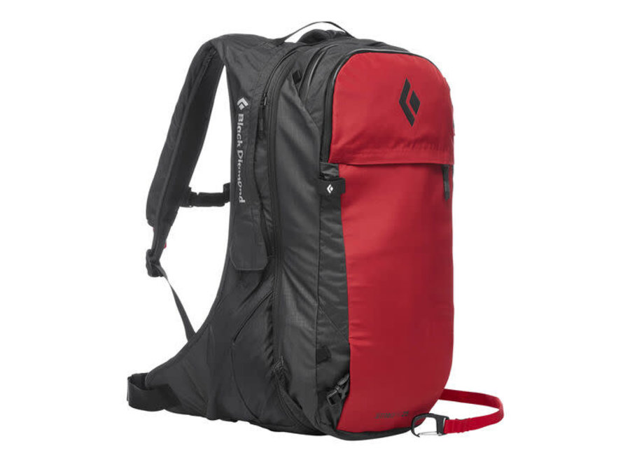 Black Diamond JetForce Pro Avalanche Airbag Pack 25L Red MD/LG