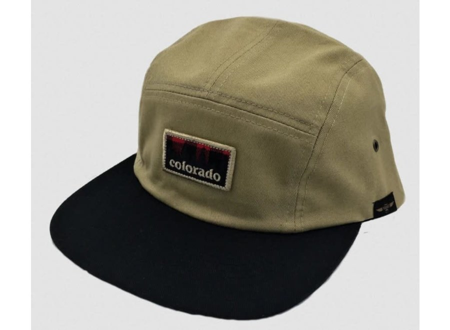 Limber Grove Berthoud Five Panel Hat