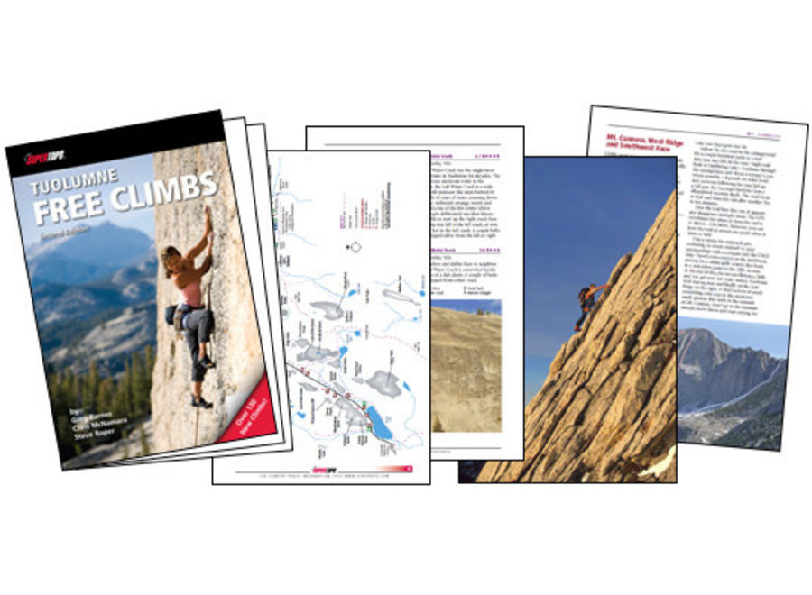 SuperTopo Tuolumne Free Climbs, 2nd Edition by Barnes, McNamara, Roper