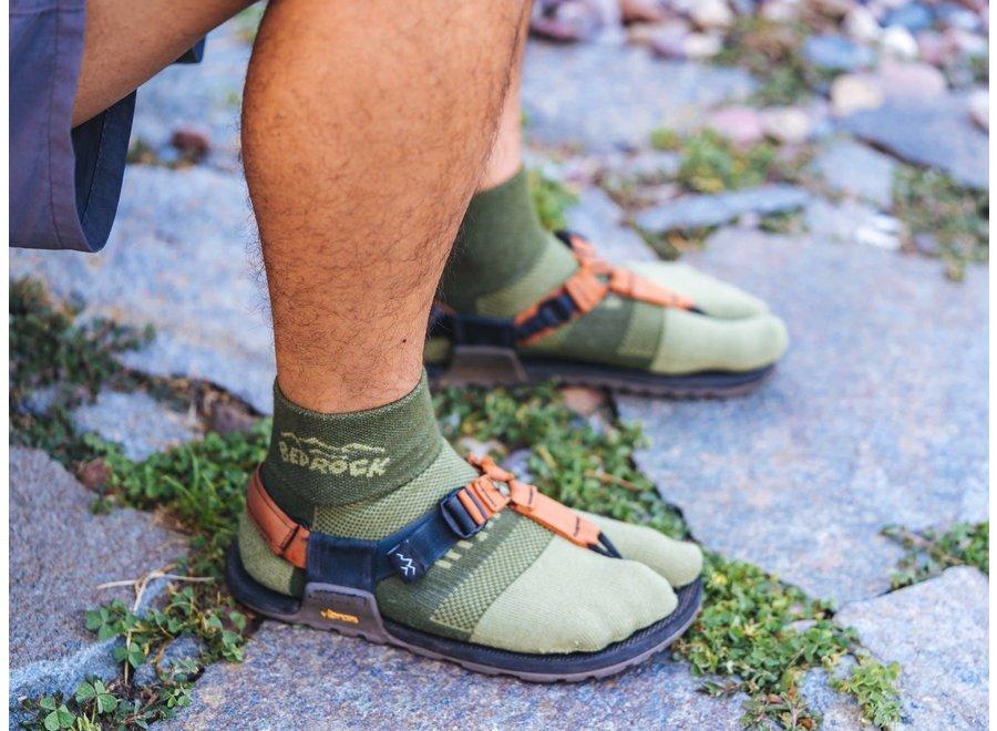 Bedrock Sandals Performance Split Toe Midweight Sock