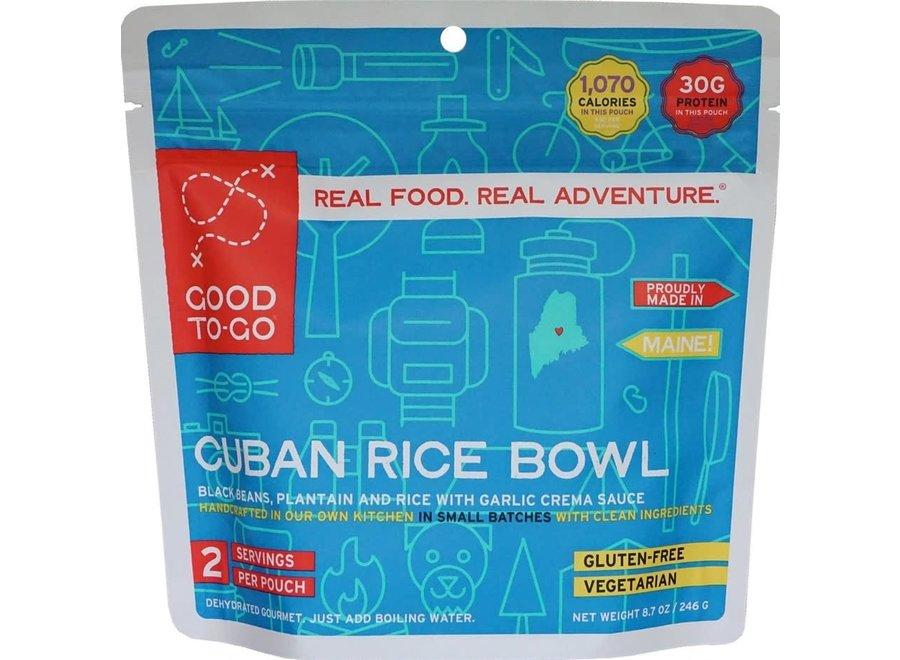 Good To Go Cuban Rice Bowl 2 Serv 8.6oz