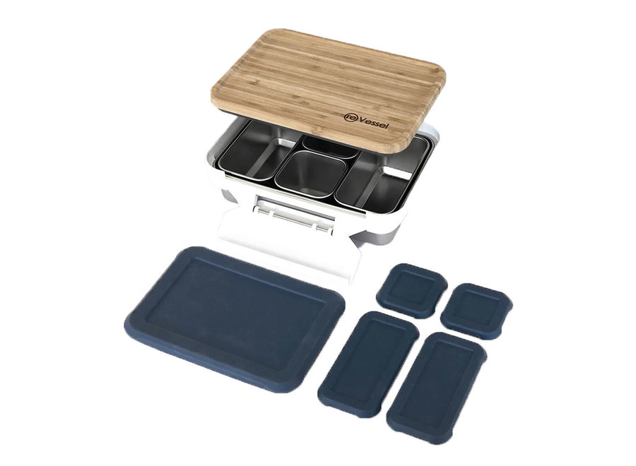 reVessel Adventure Kit Lunch Box and Food Storage Set