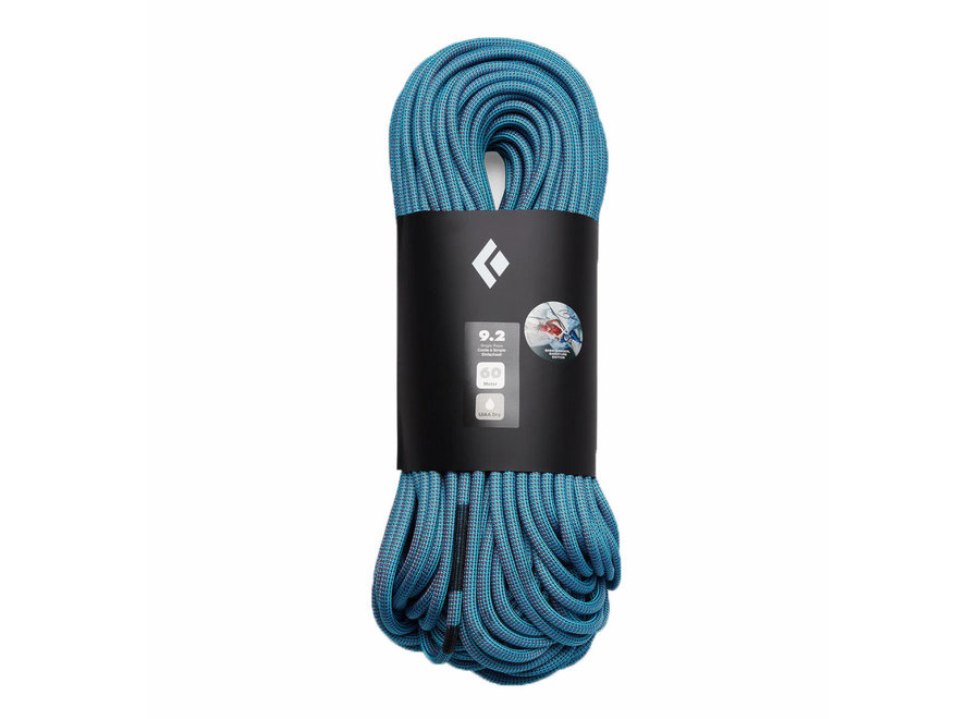 Black Diamond 9.2 Dry Climbing Rope - Babsi Edition 70M