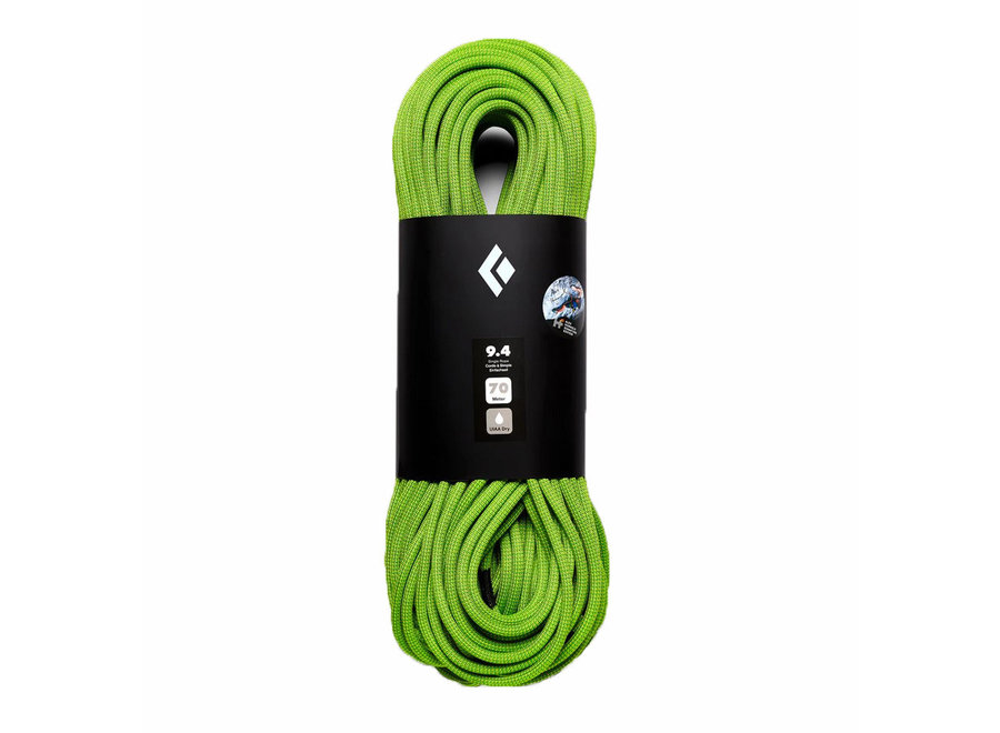 Black Diamond 9.4 Dry Climbing Rope - Honnold Edition 70M