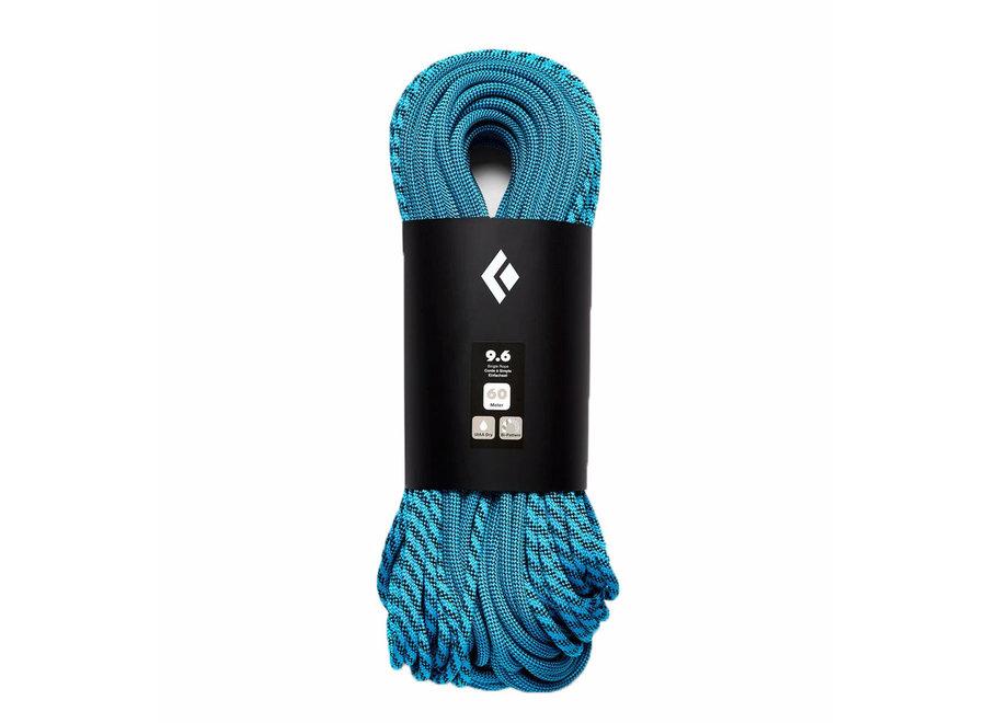 Black Diamond 9.6 Bipattern Dry Rope - 60M