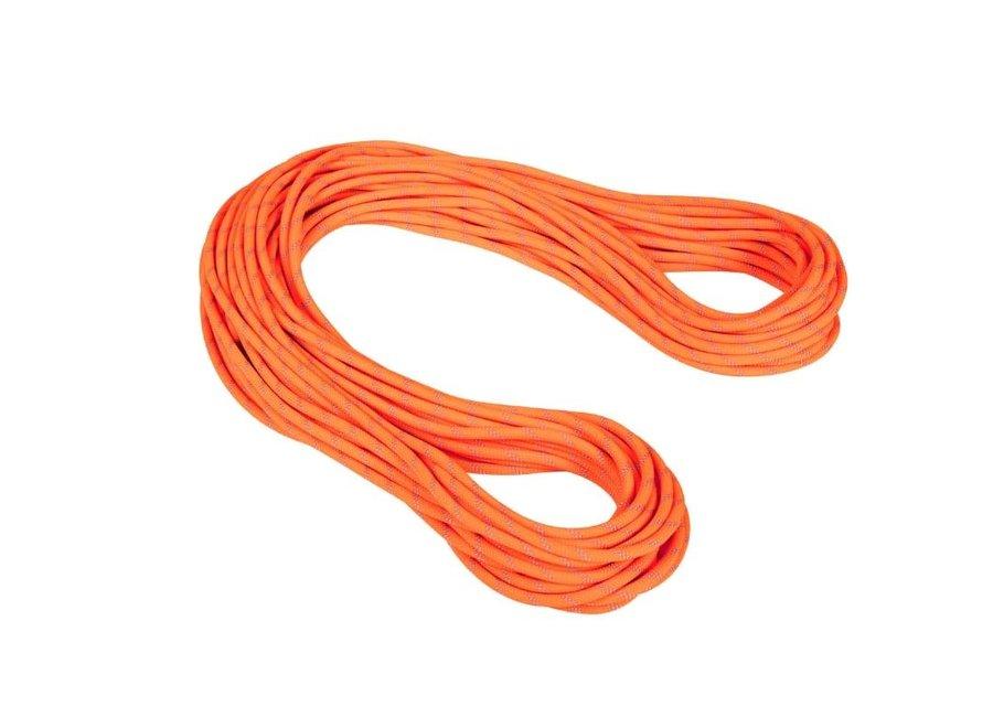 Mammut 9.5 Alpine Dry Rope Safety Orange 60M