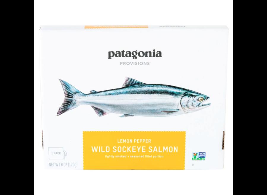 Patagonia Provisions Wild Sockeye Salmon Lemon Pepper 6oz