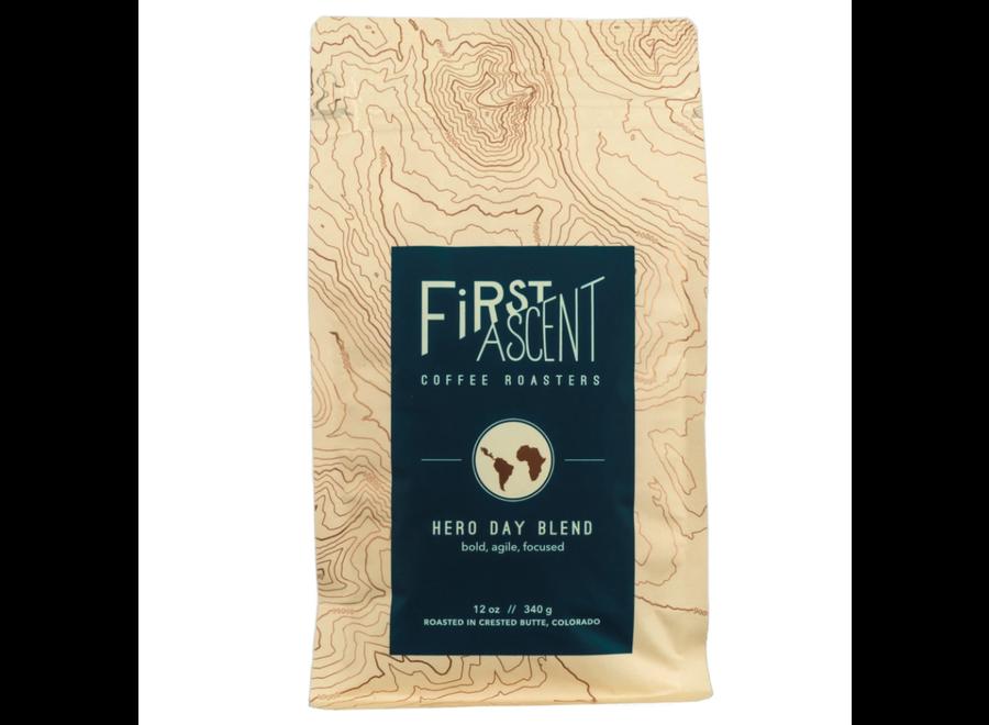 First Ascent Hero Day Medium Roast Bulk Instant Coffee 16 Serv