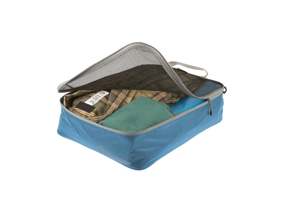 Sea to Summit Travelling Light Garment Mesh Bag MD - Pacific Blue