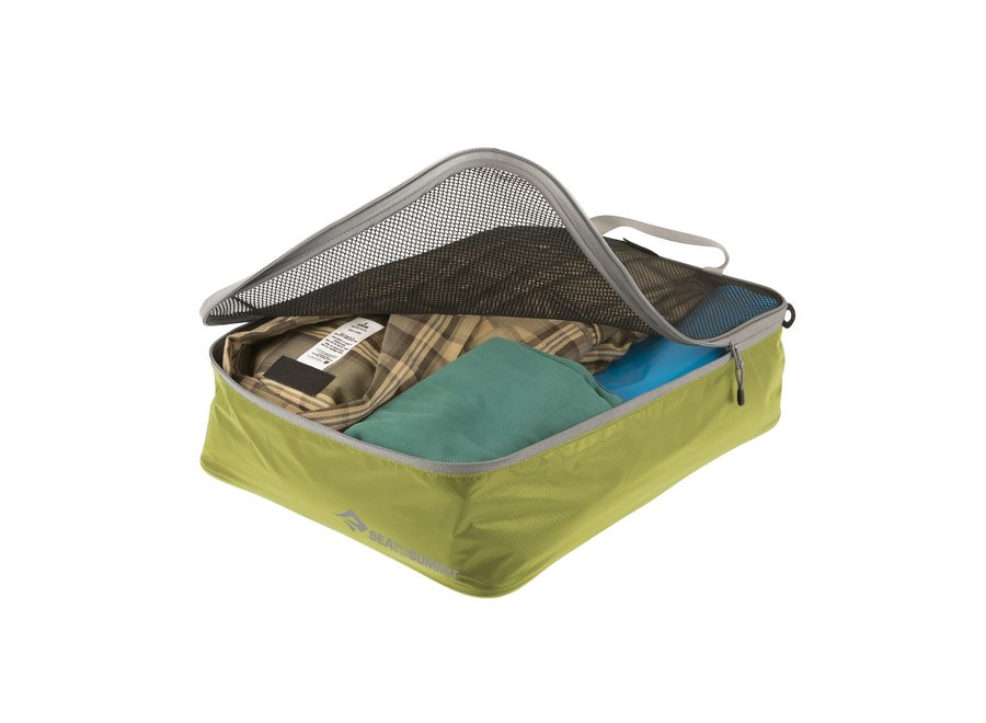 Sea to Summit Travelling Light Garment Mesh Bag MD - Lime Green