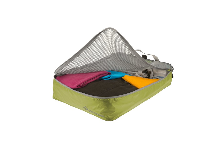 Travelling Light Garment Mesh Bag LG - Lime Green