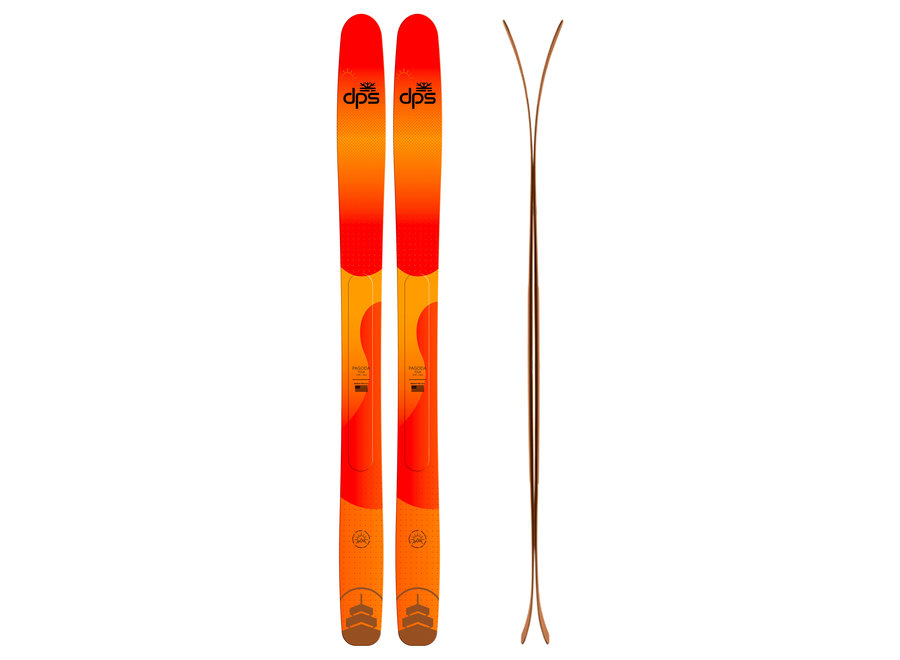 dps Pagoda Tour 112RP - Early Riser Special Edition Skis 21/22