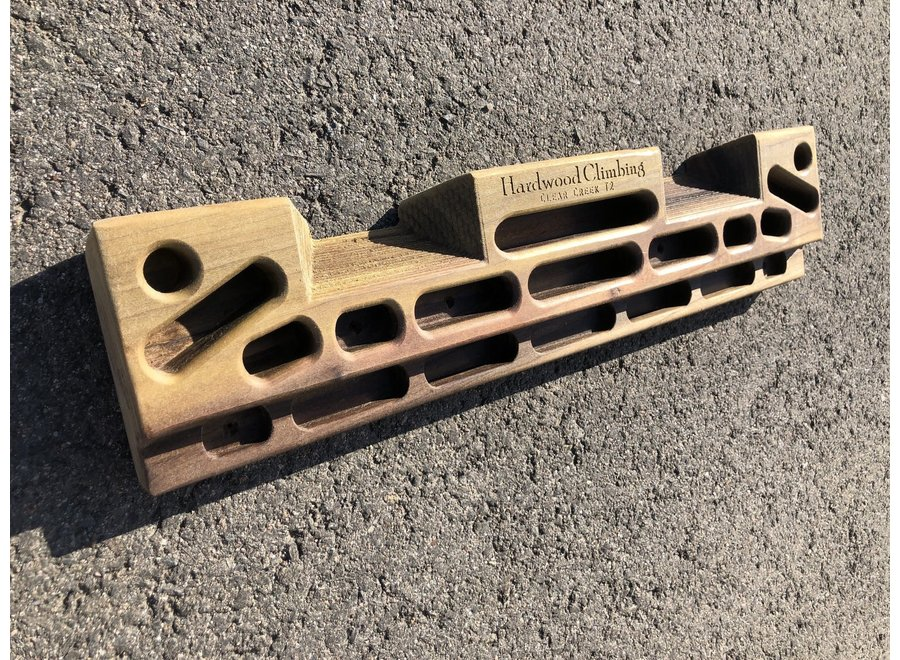 Hardwood Hangboards Clear Creek Training Board