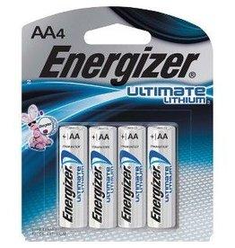 Gentec Energizer Ultimate Lithium AAx4