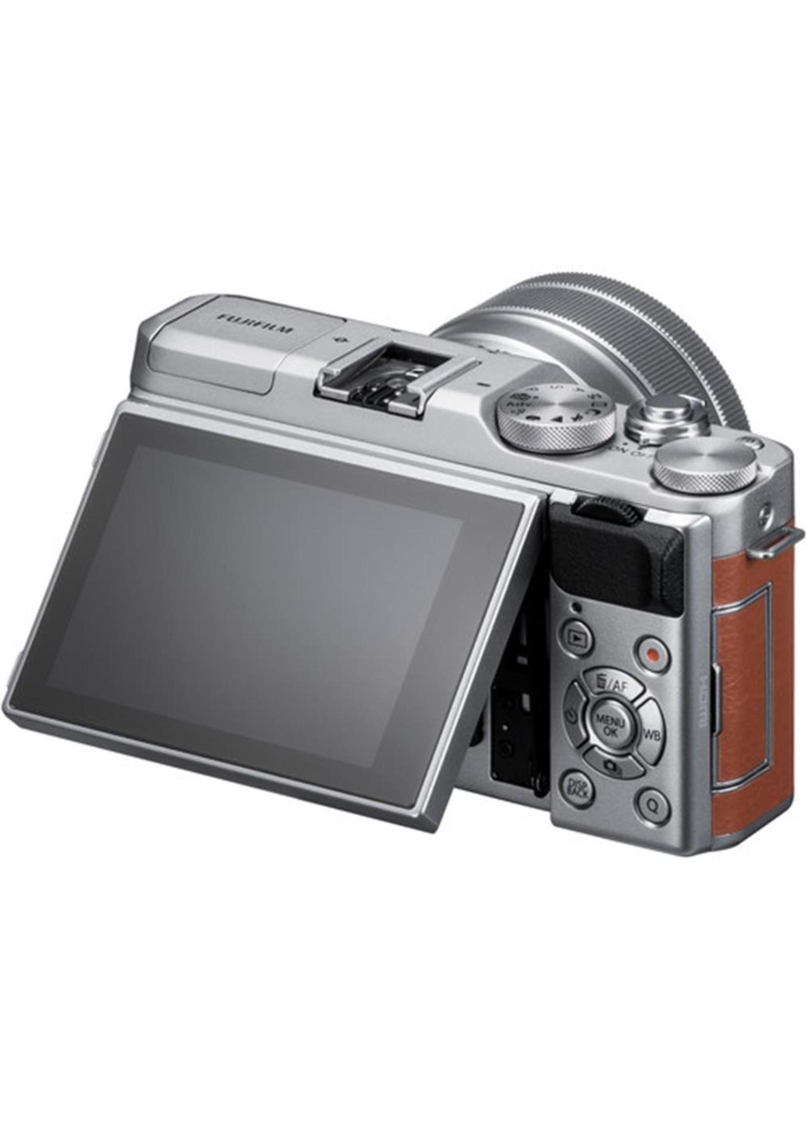 Fuji FUJIFILM X-A5 Mirrorless Digital Camera with 15-45mm Lens (Brown)