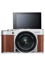 Fuji FUJIFILM X-A5 Mirrorless Digital Camera with 15-45mm Lens (Brown)