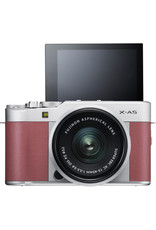 Fuji FUJIFILM X-A5 Mirrorless Digital Camera with 15-45mm Lens (Pink)