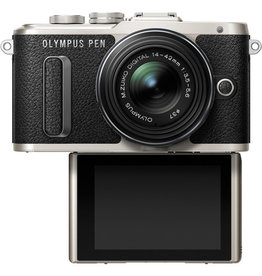 Olympus PEN E-PL8 Mirrorless with 14-42mm (Black)