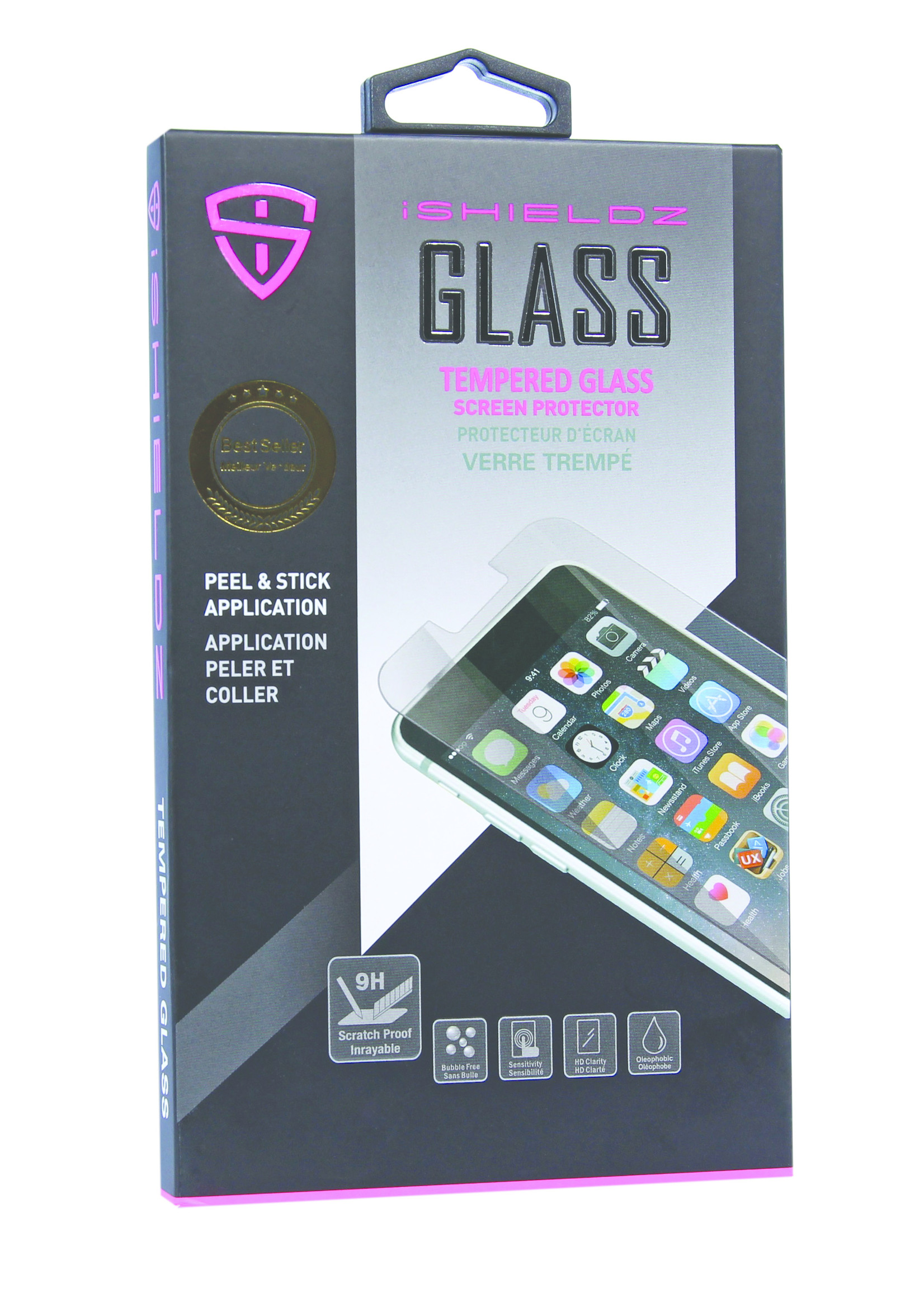 ISHIELDZ Tempered Glass 6/6S - Open Box