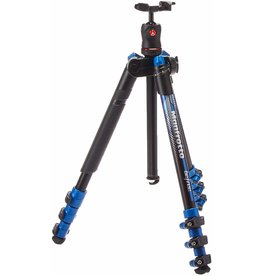Manfrotto Manfrotto BeFree 4-Section Tripod Blue - With Ball Head