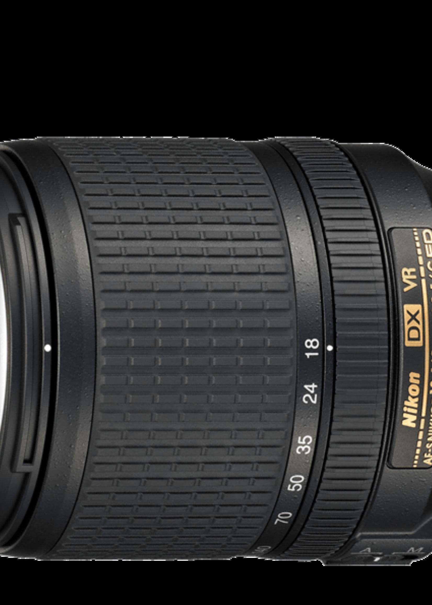 Nikon inc Nikkor 18-140mm f3.5 VR