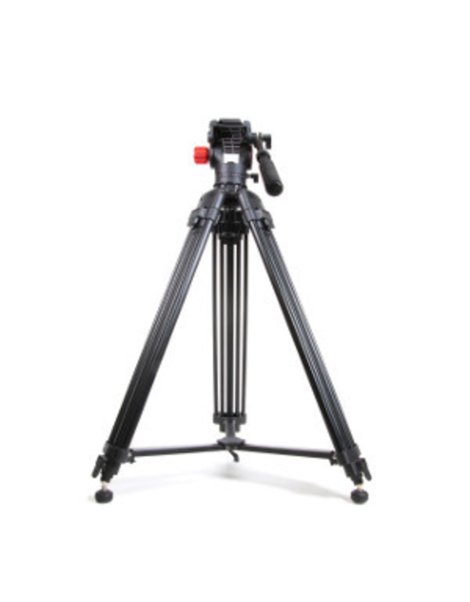 Gentec Optec Black - Video Tripod Twin Legs w/Case
