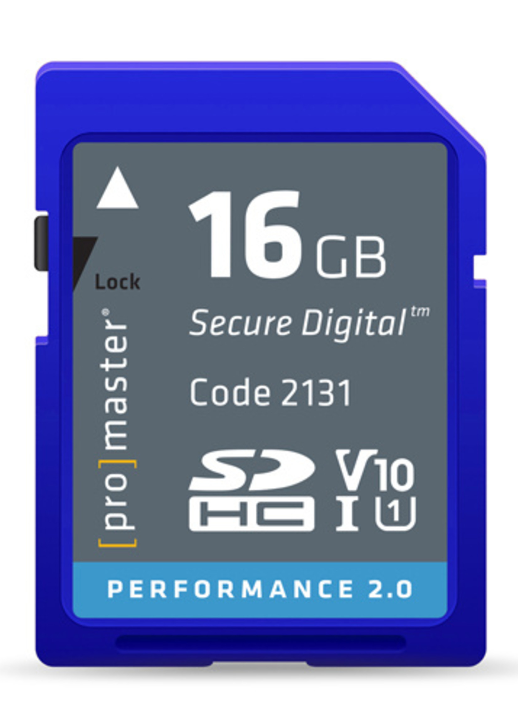 ProMaster ProMaster - 16GB SDHC V10 Performance
