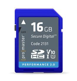ProMaster ProMaster 16GB SDHC V10 Performance