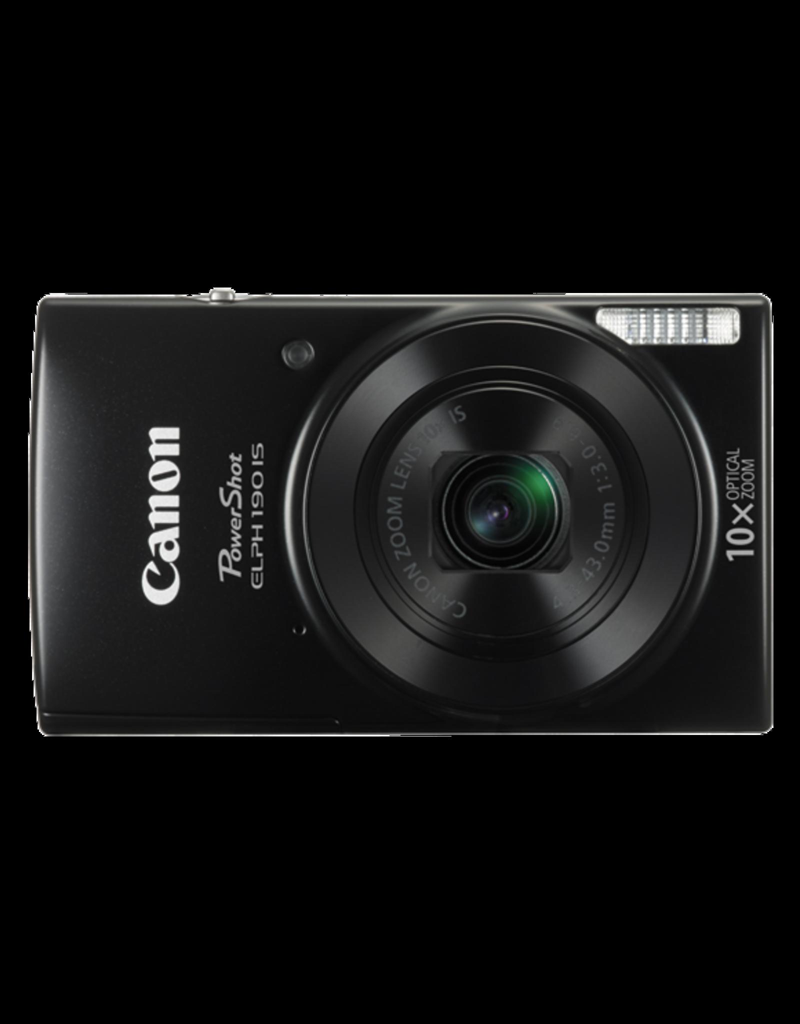Canon PowerShot ELPH 190 IS - Black