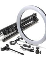"""Mobifoto Mobifoto 12"""" VLOG Ring Light Kit"""
