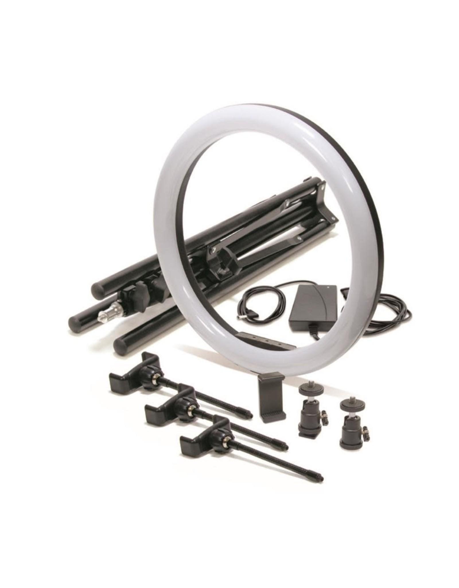 """Mobifoto Mobifoto 18"""" VLOG Ring Light Kit"""