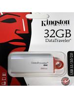 Kingston Technology Kingston 32GB Data Traveler G4 - Red