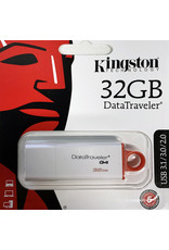 Kingston Technology Kingston 32GB Data Traveler G4 - Red