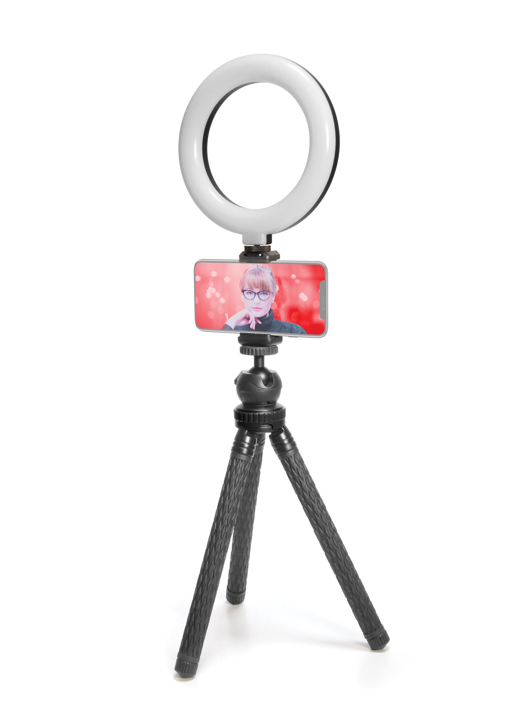 """Mobifoto Mobifoto 6"""" Ring Light Phone Kit"""