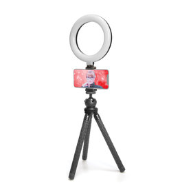 "Mobifoto Mobifoto 6"" Ring Light Phone Kit"