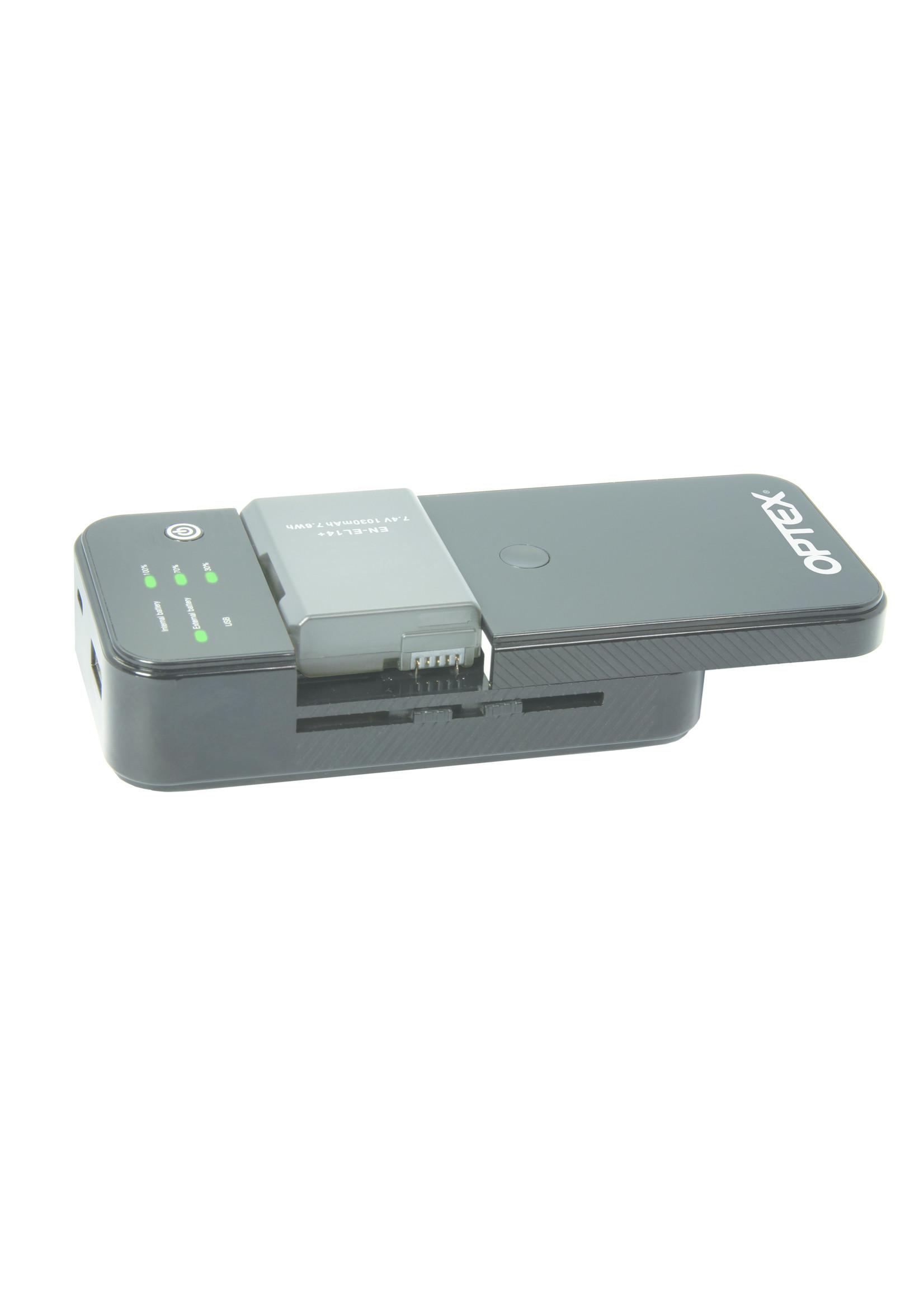 Optex LI8000 with Powerbank