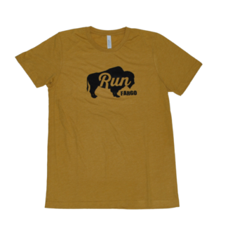 Beyond Running Run Fargo Bison Tee