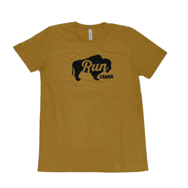 Beyond Running Run Fargo Bison Tee