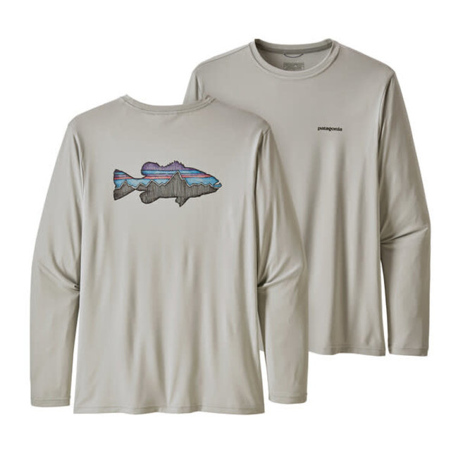 Patagonia Men's LS Capilene Cool Daily Fish