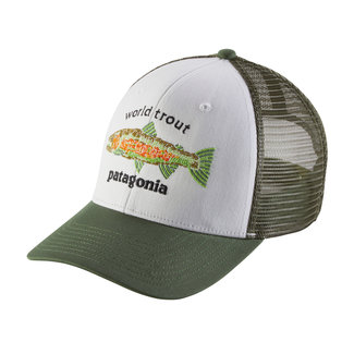 Patagonia World Trout Fishstitch Trucker Hat