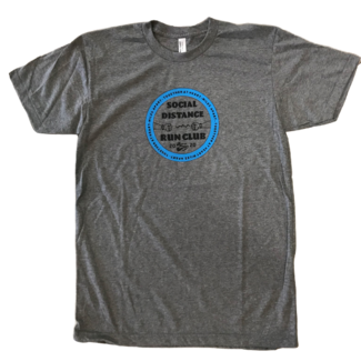 Beyond Running (Social) Distance Circle Tee