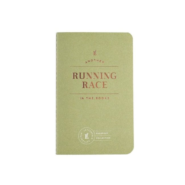 Letterfolk Running Race Passport
